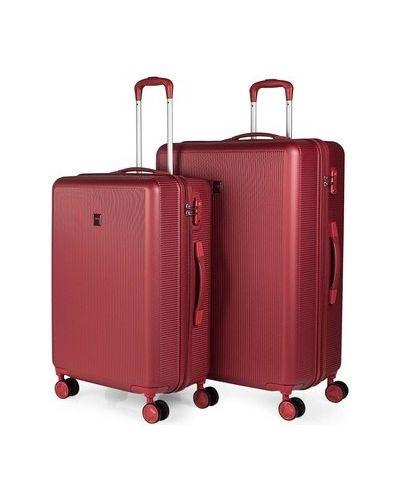 Czerwony walizka Jaslen