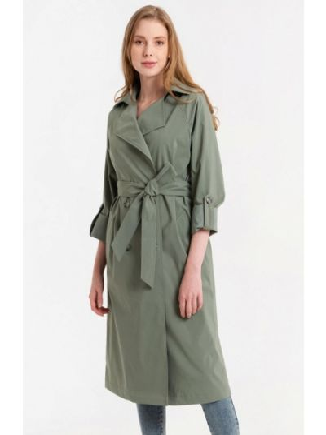 Зеленый плащ Lab Fashion