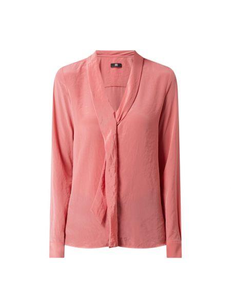 Różowa bluzka z długimi rękawami Riani