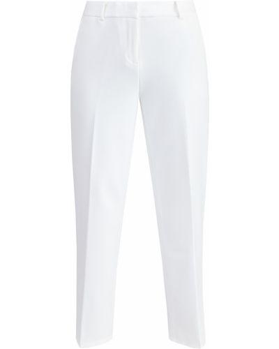 Укороченные брюки из вискозы костюмные Michael Michael Kors