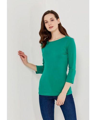 Зеленый лонгслив United Colors Of Benetton