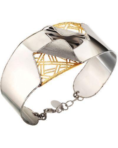 Браслет позолоченный - серебряный Madde