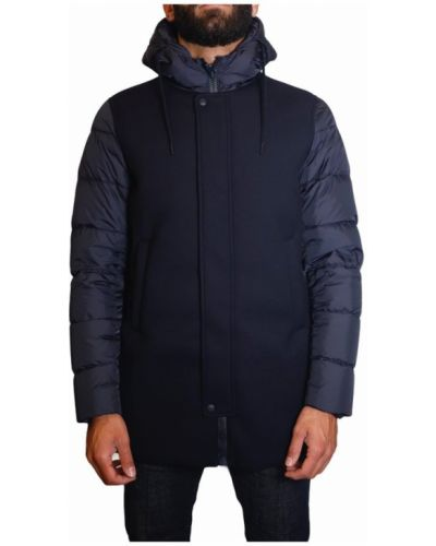 Płaszcz z kapturem z gęsim puchem od płaszcza przeciwdeszczowego Herno