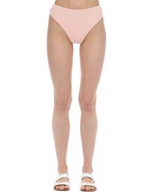 Różowy klasyczny bikini z wysokim stanem Aexae