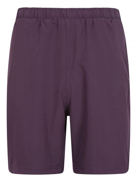 Spodnie do biegania - fioletowe Mountain Warehouse