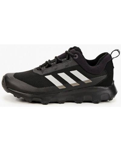 Текстильные кроссовки - черные Adidas