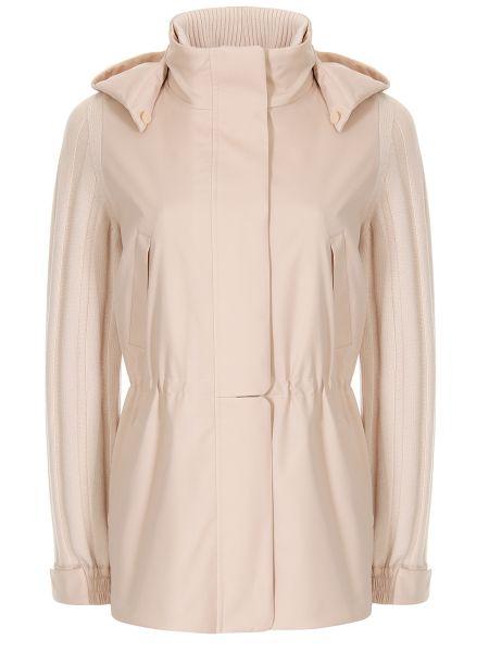 Комбинированная куртка - бежевая Loro Piana