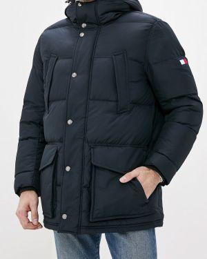 Зимняя куртка осенняя синяя Tommy Hilfiger