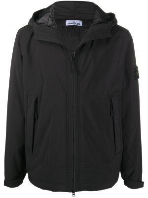 Дутая куртка - черная Stone Island