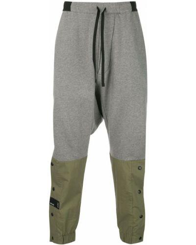 Спортивные брюки с карманами серые Unravel Project