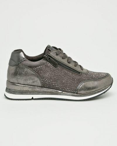 Ботинки на шнуровке текстильные Marco Tozzi