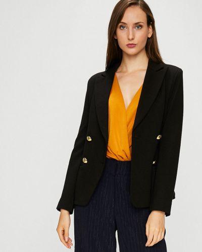 Классический пиджак прямой черный Silvian Heach