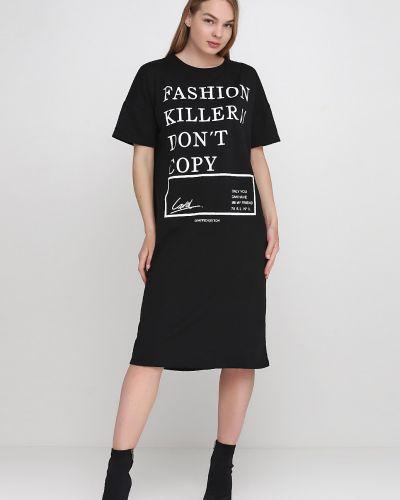Прямое платье - черное Кристина Мамедова