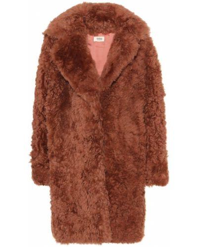 Розовое пальто Yves Salomon Meteo