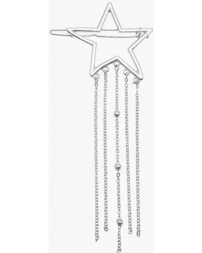 Заколка из серебра серебряный Aiyony Macie