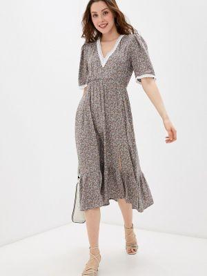 Платье - серое Imocean