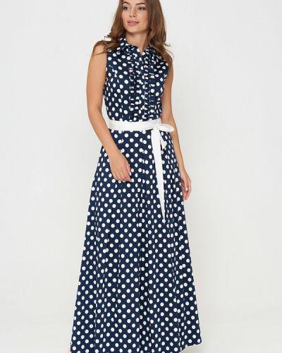 Платье весеннее синее Sellin