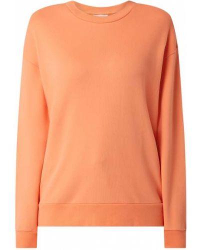 Bluza bawełniana - pomarańczowa Armedangels