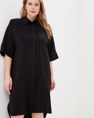 Повседневное платье черное Tutto Bene Plus