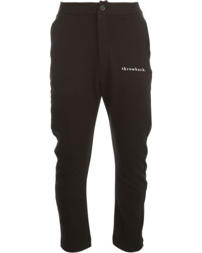 Czarne spodnie Throwback