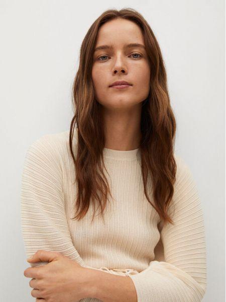 Beżowy sweter Mango