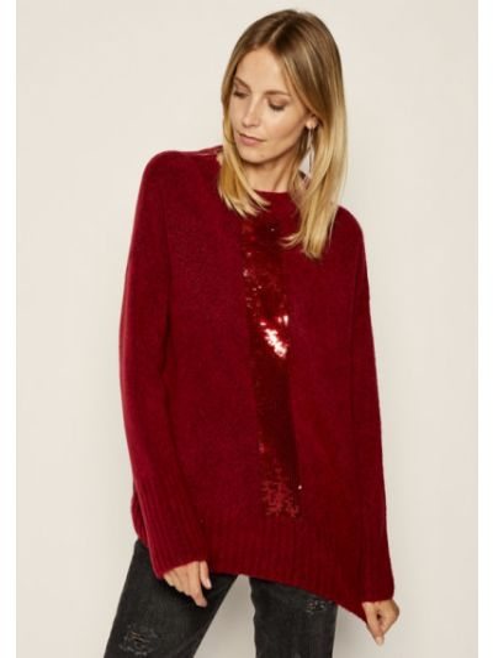Sweter bordowy Laurel