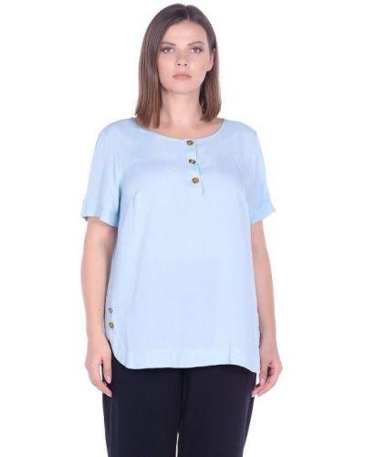 Повседневная блузка из вискозы с вырезом Blagof