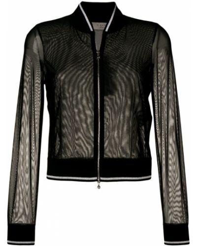 Черная куртка с манжетами из фатина D.exterior