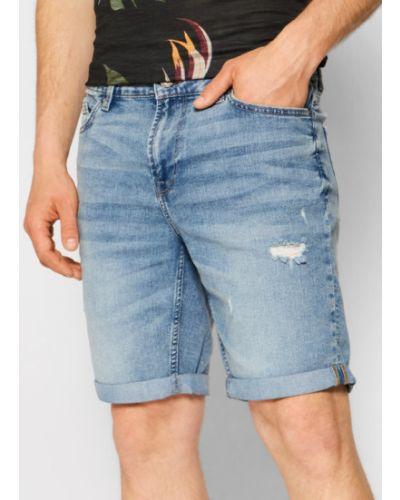 Szorty jeansowe granatowe Only & Sons