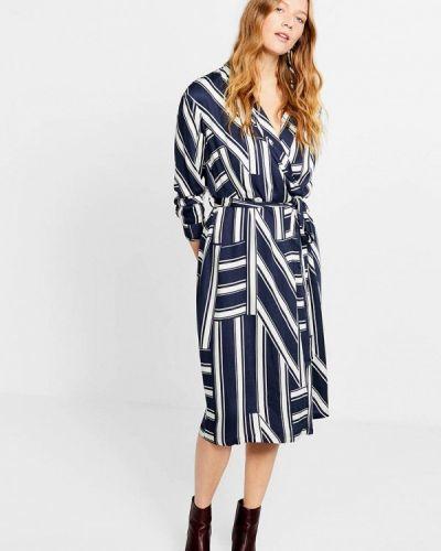 Платье с запахом весеннее Violeta By Mango