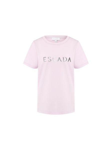 Спортивная футболка с логотипом футбольный Escada Sport