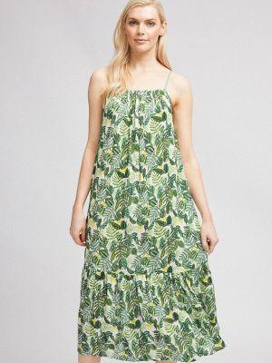 Зеленый сарафан Dorothy Perkins