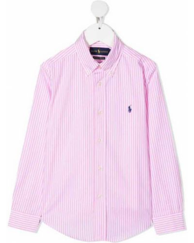 Koszula oversize bawełniana w paski Polo Ralph Lauren