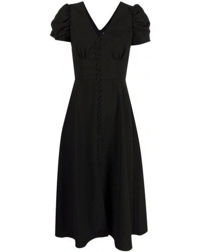 Czarna sukienka Saloni