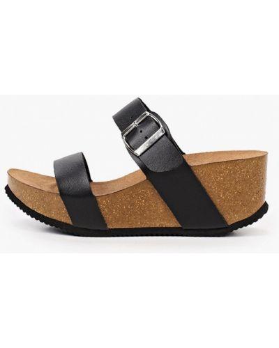 Черные кожаные туфли Ideal Shoes®