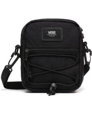 Черная нейлоновая сумка на плечо Vans