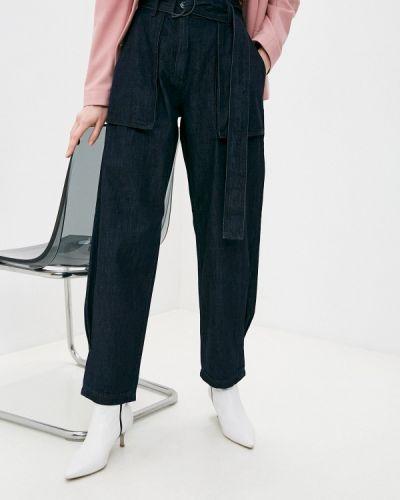Синие прямые джинсы Max&co
