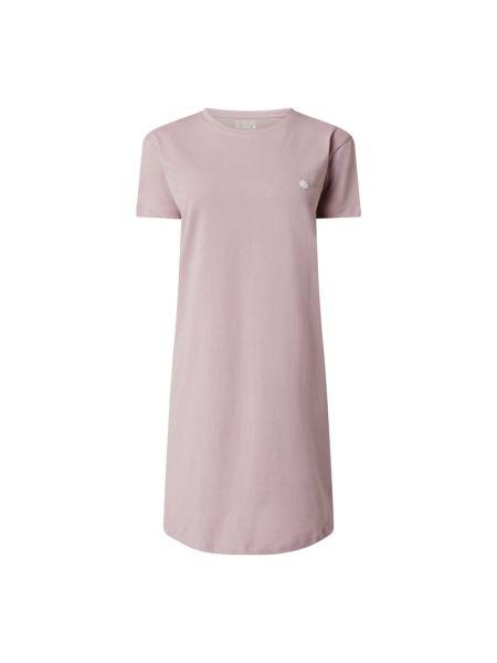 Różowa koszula nocna bawełniana krótki rękaw Jake*s Casual