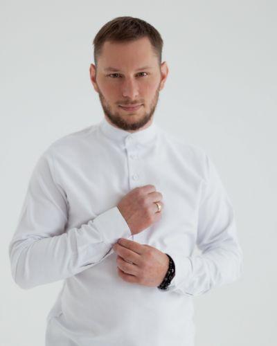 Льняная рубашка - белая Ursus