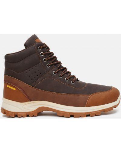 Ботинки - коричневые Wonex