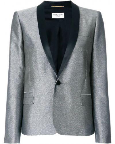 Классический пиджак приталенный узкий Saint Laurent