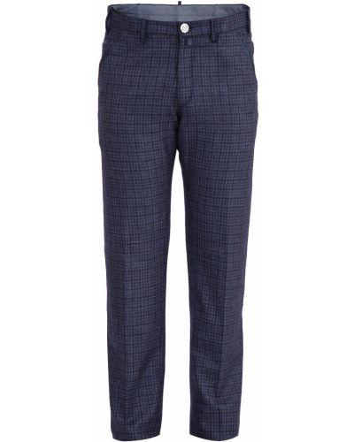 Прямые брюки с карманами домашние Stefano Ricci