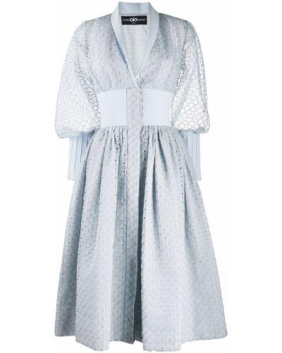 Платье расклешенное с воротником Avaro Figlio