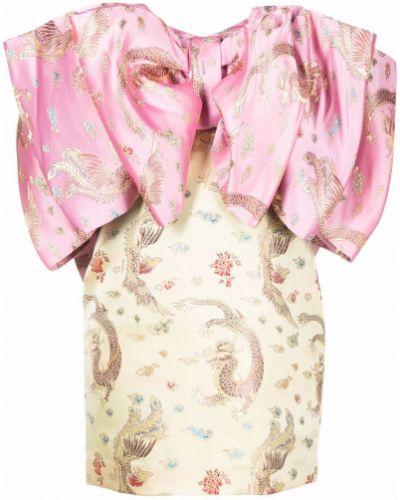 Платье мини - розовое Rotate
