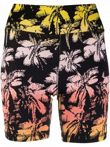 Пляжные шорты - черные Solid & Striped