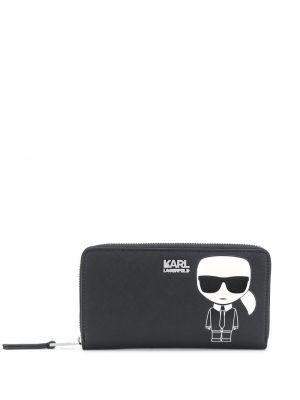 Черный кошелек Karl Lagerfeld