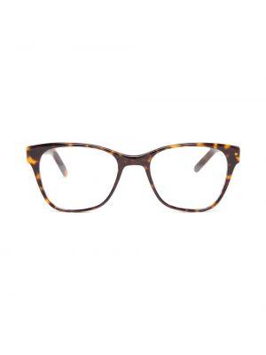Zielone złote okulary Prism