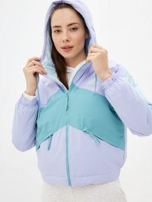 Разноцветная куртка Adidas