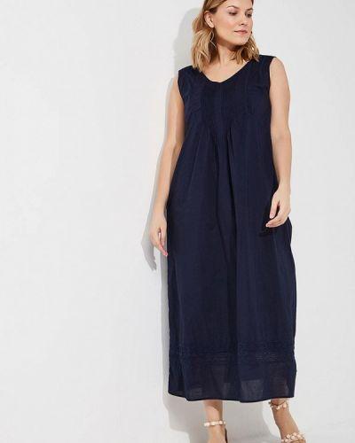 Синее платье весеннее Persona By Marina Rinaldi