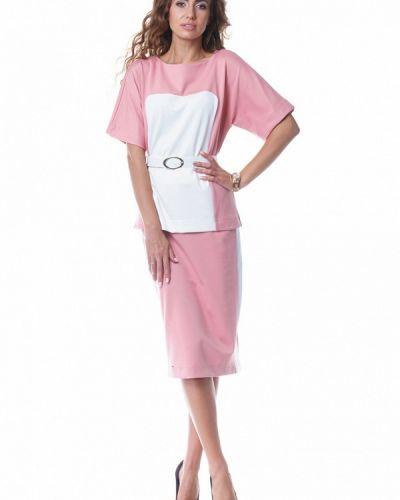 Юбочный костюм розовый Evercode